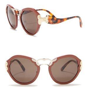 Prada irregular catwalk 54 mm sunglasses